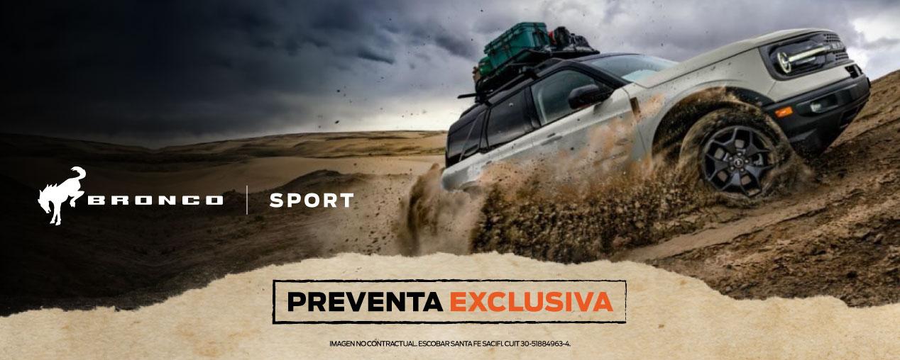 Nueva Bronco Sport